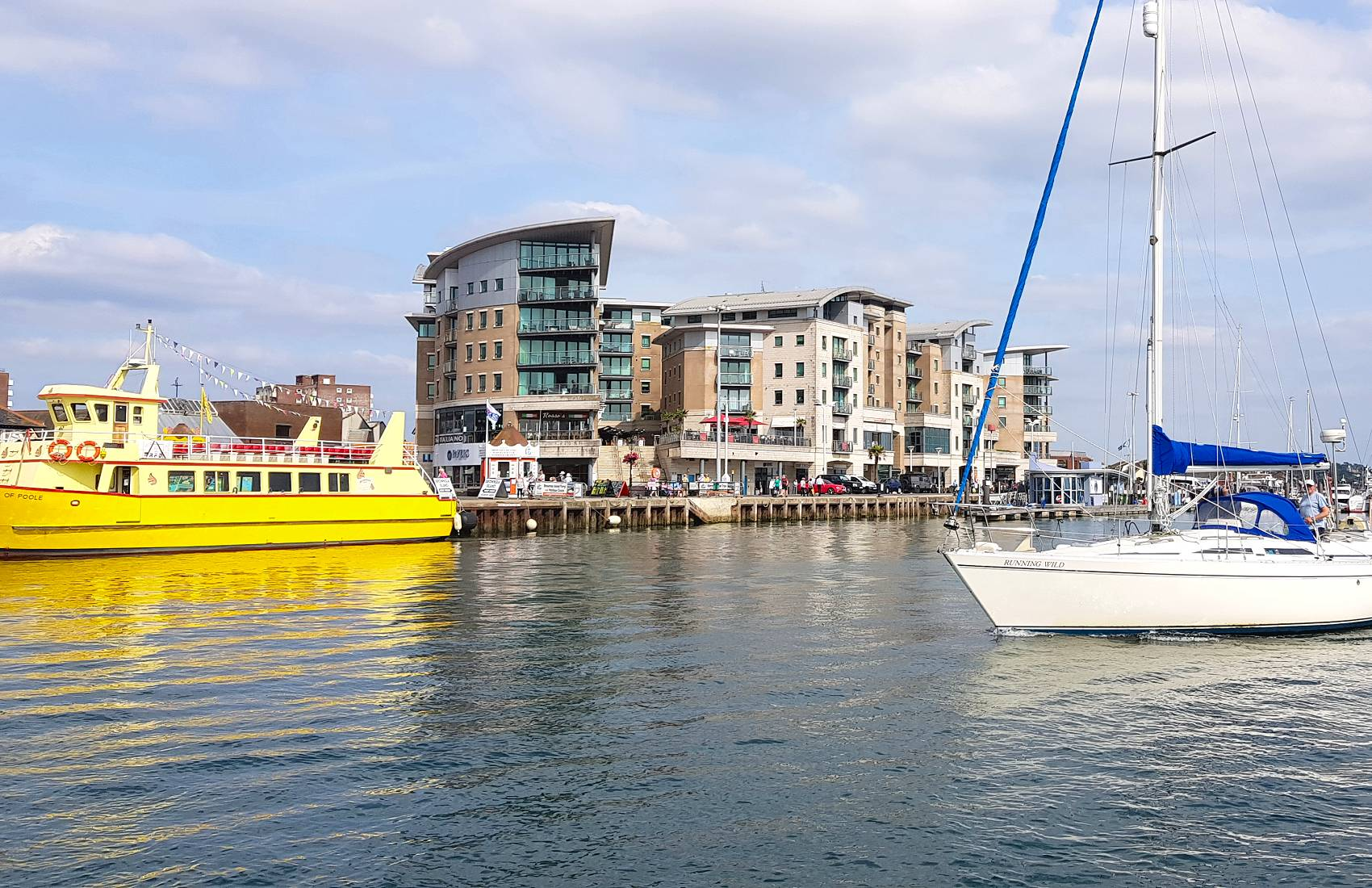 Dolphin Quays from Poole Harbour