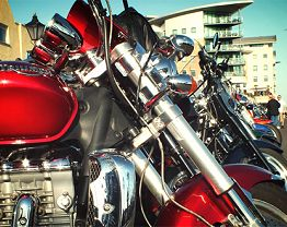 Poole Quay Dream Machines - Bike Events